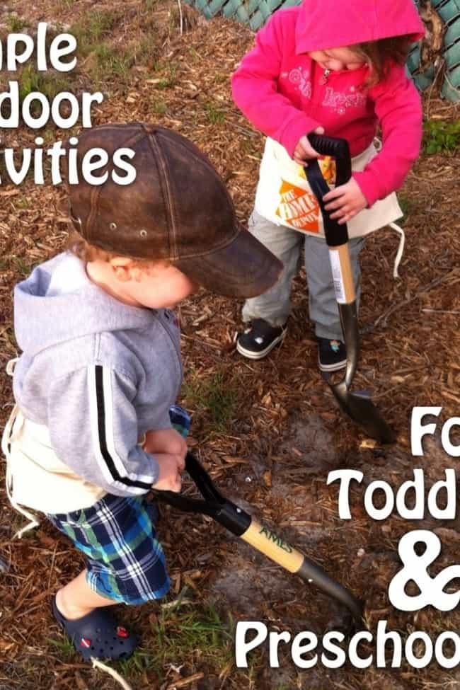 Simple Outdoor Activities for Toddlers & Preschoolers | Jornie.com