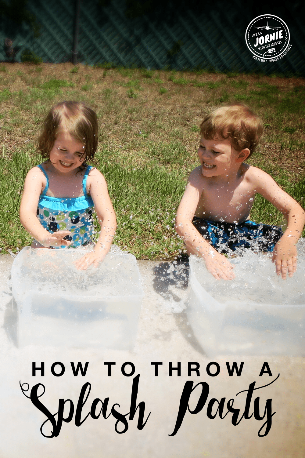 How to throw a SPLASH PARTY!