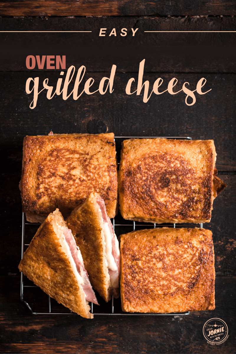 how to make a grilled cheese in the oven