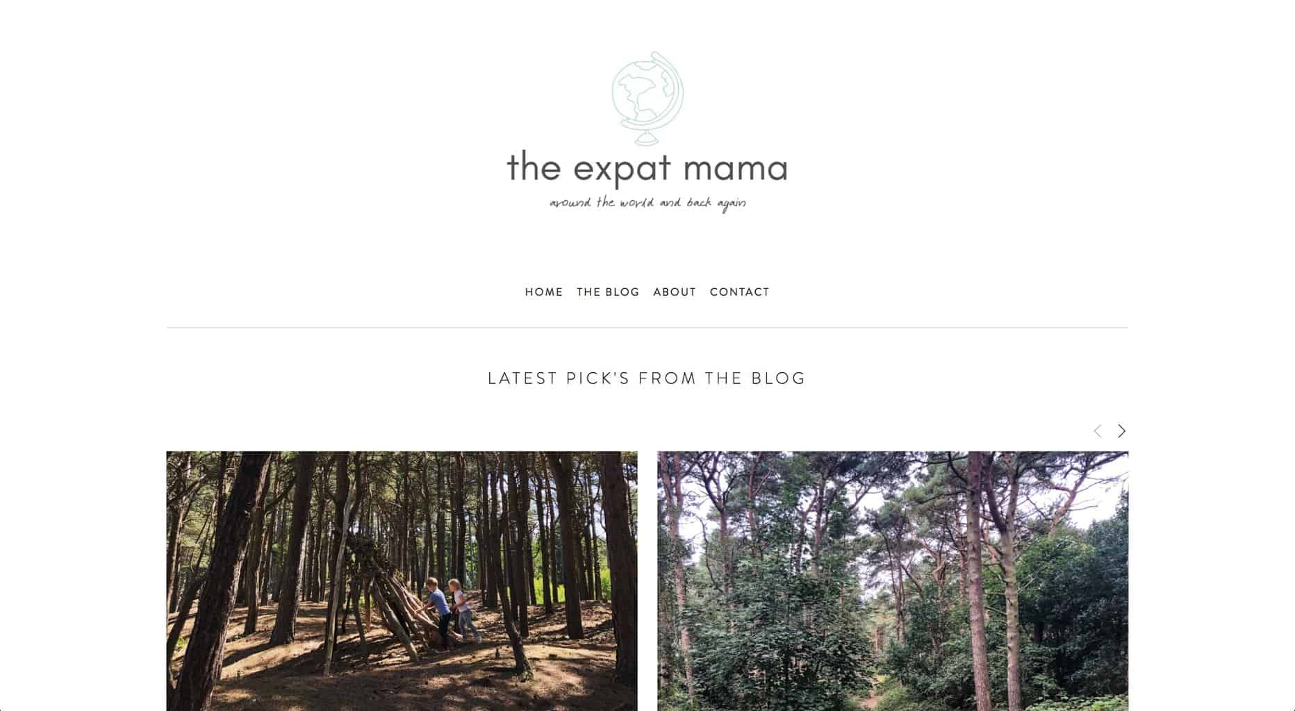 Screenshot - The Expat Mama